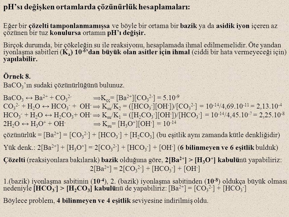 2[Ba2+] = 2[CO32-] + [HCO3-] + [OH-]